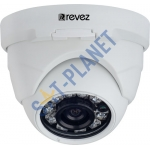 800TVL Dome Camera, 2.8-12mm Lens-White
