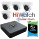 HiWatch 4 High Definition Camera Kit 1080P by Hikvision