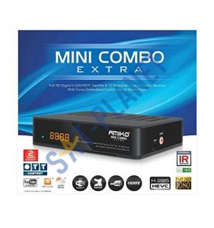 AMIKO MINI COMBO EXTRA (DVB-S2 + DVB-T2/C)