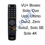 OEM Remote Control for VU+ / Max+ Solo / Duo