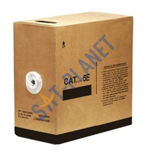 CAT5e UTP Indoor Ethernet Cable - 305m