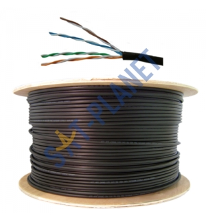 CAT5e UTP Outdoor Ethernet Cable - 305m
