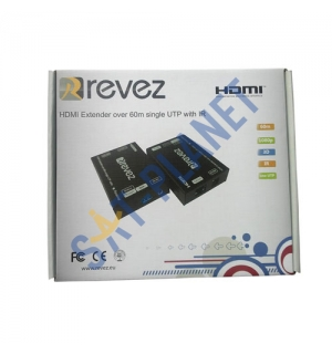 HDMI Extender Over Single CAT5/6 with IR Control (60m) image