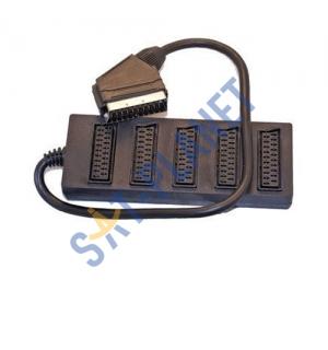 SCART splitter / extender - 5 way