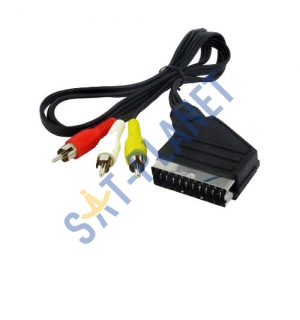 SCART to RCA Cable - 1.5M