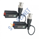 Video Balun with Lead up to 300m pack of 2