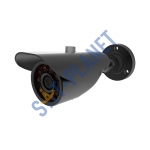 Bullet Outdoor Camera, 3.6mm Lens-Black 1000 tvl