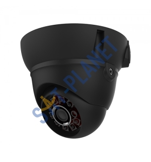 Dome Camera, 2.8-12mm Lens-Black