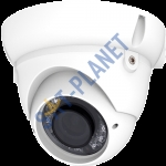 1000TVL Dome Camera, 2.8-12mm Lens-White
