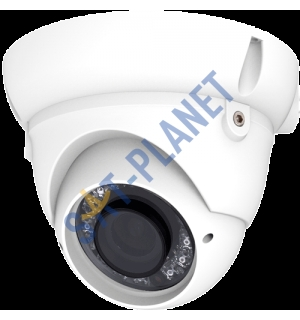 Dome Camera, 2.8-12mm Lens-White