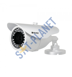 Mini Bullet Camera, 720p, 3.6mm Varifocal Lens, 30m IR, 12v DC (RZHD-720-3)