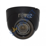 Indoor Mini Dome Camera (800TVL, 3.6mm Fixed Lens) - Black