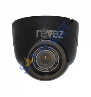 Indoor Mini Dome Camera (800TVL, 3.6mm Fixed Lens) - Black image