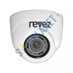 Indoor Mini Dome Camera (600TVL, 3.6mm Fixed Lens) - White