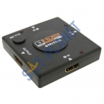 Manual HDMI Switch - 3 Way