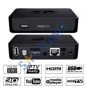 MAG 254  IPTV set top box