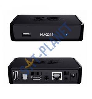 MAG 254 Micro Full HD, 3D IPTV set top box image