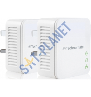Technomate 200Mbps Homeplug Twin Set