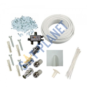 DIY installation kit for TV Aerial (Multiroom) image