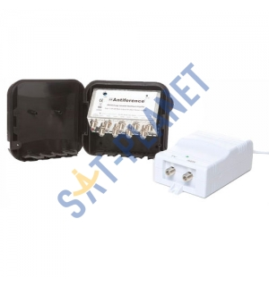 High Gain UHF Variable 1-20dB Masthead Amp Kit - 8 Way image