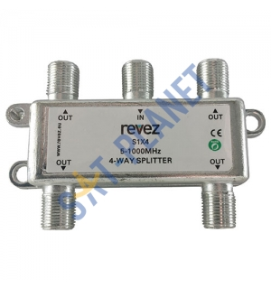 TV Splitter Passive - 4 Way
