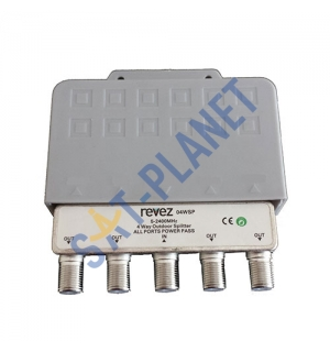 TV Splitter Powerpass Outdoor - 4 Way