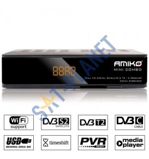 Amiko Mini Combo (DVB-S2 + DVB-T2/C)