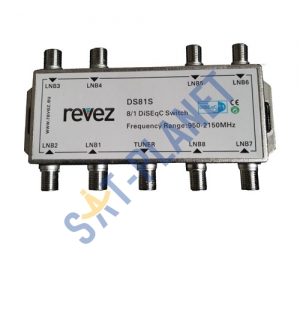 8 way DiseqC Switch