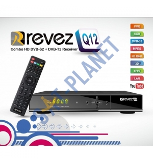 Revez HD Q12 Combo Freesat & Saorview Receiver image