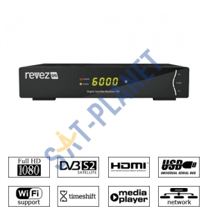 Revez Q10 Full HD Satellite Receiver