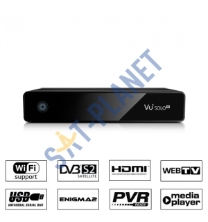 VU+ Solo SE Linux Satellite Receiver (100% Original)