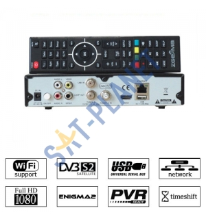 Zgemma Star H.2S Dual Core Twin Tuner Satellite Receiver Linux Enigma IPTV image
