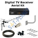 Digital TV Box & Aerial Kit