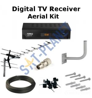 Digital TV Box & Aerial Kit