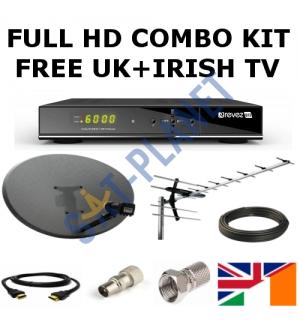 Full UK & Irish TV Combo Kit