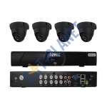 8CH HDMI Security Video DVR Idoor IR 600 TVL CCTV Security  4 Cameras System Kit