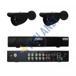 CUSTOM REVEZ 8CH HDMI Security Video DVR CCTV Security Cameras System Kit