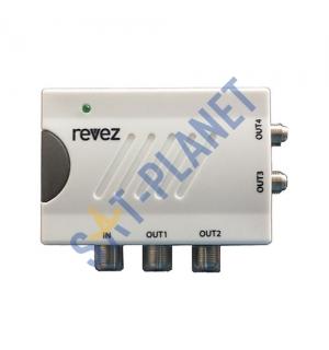 TV Link Amplifier - 4 Way
