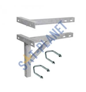 """450mm (18"""") T & K Wall Bracket - Galvanised Steel"""