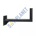 600mm Steel Wall Mount - Black