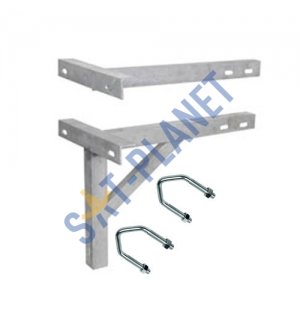 "610mm (24"") T & K Wall Bracket - Galvanised Steel"