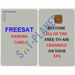 FREESAT VIEWING CARD ACTIVATED FOR PLUS AND HD UK