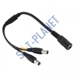 2 way DC Power Splitter Cable for CCTV