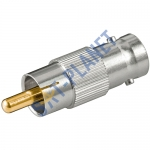 BNC to RCA Male connector