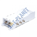 Antiference 6 Way TV Amplifier with Bypass (F-Type)