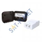 High Gain UHF Variable 1-20dB Masthead Amp Kit - 2 Way