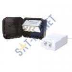 High Gain UHF Variable 1-20dB Masthead Amp Kit - 6 Way