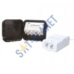 High Gain UHF Variable 1-20dB Masthead Amp Kit - 8 Way