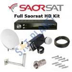 Full Saorsat Dish Kit Including HD Receiver