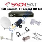 Full Saorsat & Freesat Kit Including HD Receiver